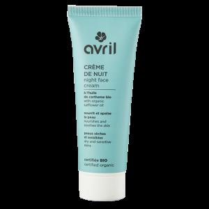 Crème de nuit peaux sèches & sensibles