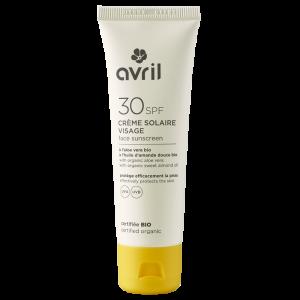 Crème solaire visage SPF 30